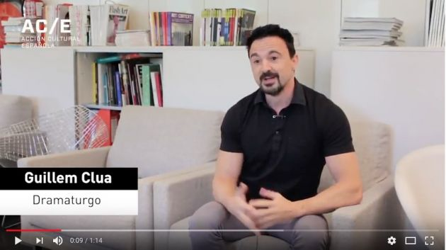Guillem Clua sobre la internacionalización del teatro español