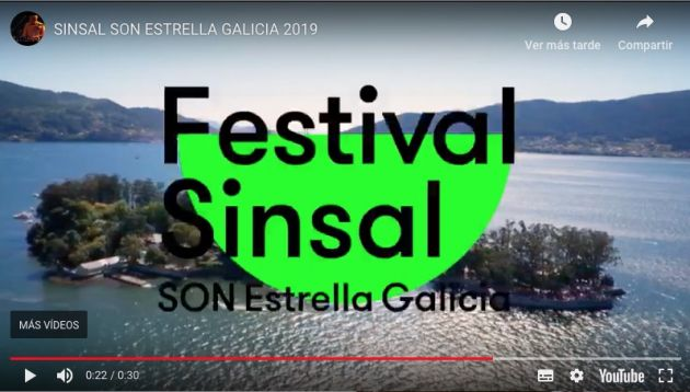 SINSAL SON ESTRELLA GALICIA 2019 | Youtube