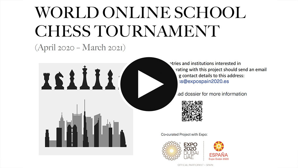 World Online School Chess Tournament. Expo Dubai 2020