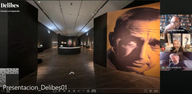 Presentación de la visita virtual 'Delibes 360 gigapíxel'