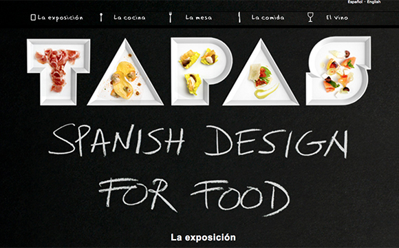 Visita virtual: Tapas. Spanish Design for Food