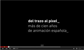 Promo 'from doodles to pixels_over 100 years of Spanish animation'