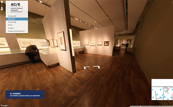 360 Virtual tour of 'Miguel de Cervantes: From Life to Myth' at the  BNE