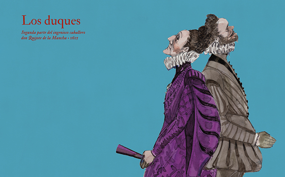 Introducing 16 marvellous characters and... Miguel de Cervantes