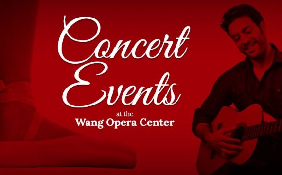 Zarzuela and Spanish music concerts in the David and Cecile Wang Opera Center