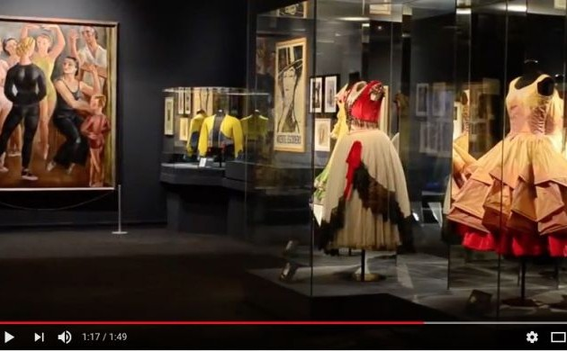 Dance in the Silver Age. Video about the exhibition