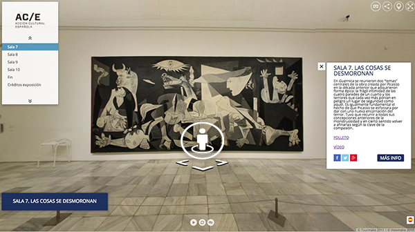 360  Tour of 'Pity and Terror. Picasso's Path to Guernica'