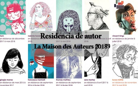 Graphic Novel Residency at the Maison des Auteurs Angouleme 2018-2019