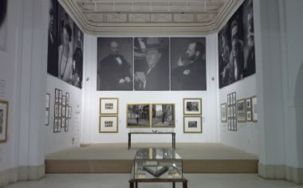 Photographs of the exhibition 'The face of Literature' at the Museo Fundación Antonio Pérez in Cuenca
