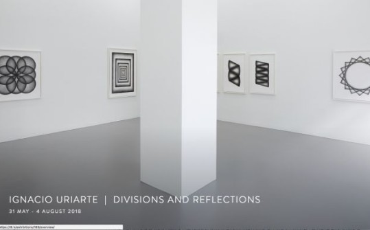 Ignacio Uriarte. Divisions and reflections