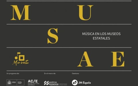 34 soloists and groups selected to participate in MusaE. Music in State Museums 2019