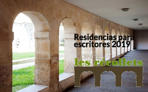 Writers' Residency at Les Récollets Paris 2019